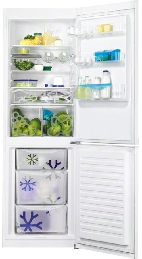 Zanussi ZRB36104WA szabadonálló alulfagyasztós hűtőszekrény 925053504