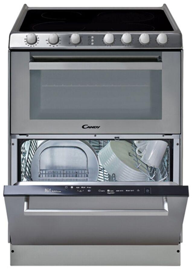 Candy TRIO 9503/1 X szabadonálló sütő - üvegkerámia főzőlap - mosogatógép 33001342