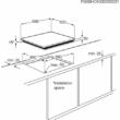 Zanussi ZEV6240FBA beépíthető üveg keráma főzőlap