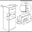 AEG KKK884500M beépíthető kompakt kávéfőző