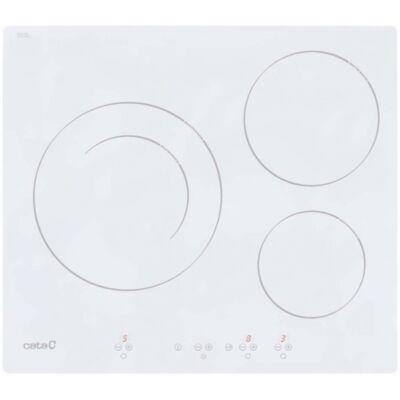 CATA IB-6203 WH beépíthető indukciós kerámia főzőlap - fehér