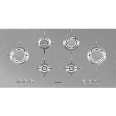 SMEG PXL6106 beépíthető gáz főzőlap - inox