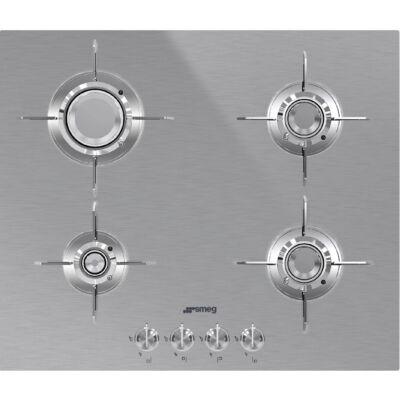 SMEG PXL664 beépíthető üveg-gáz főzőlap - inox