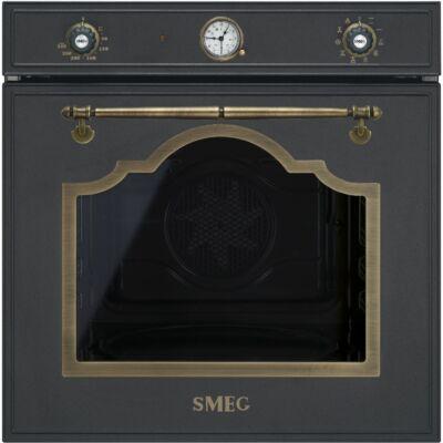 SMEG SF750AO beépíthető rusztikus sütő - antracit / bronz