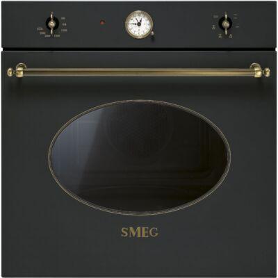 SMEG SF800AO beépítehtő rusztikus sütő - antracit