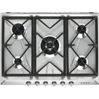 SMEG SR975XGH beépíthető rusztikus gáz főzőlap - inox