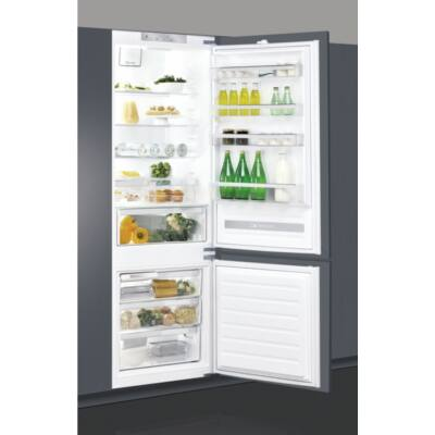 Whirlpool SP40 801EU beépíthető alulfagyasztós hűtőszekrény