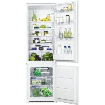 Zanussi ZBB28441SA beépíthető kombinált hűtő