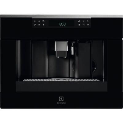 Electrolux KBC65X beépíthető kompakt kávéfőző