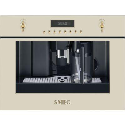 SMEG CMS8451P beépíthető rusztikus kávéfőző - bézs