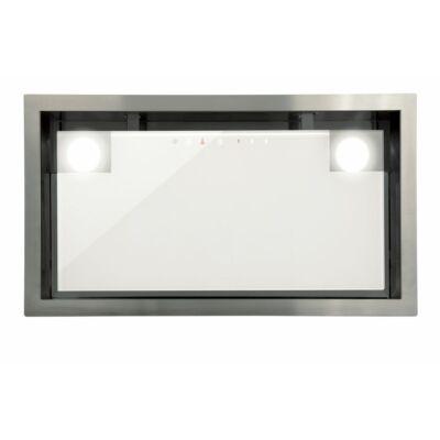 Cata GC DUAL 45/B WH LED felső szekrénybe és kürtőbe építhető páraelszívó - fehér üveg