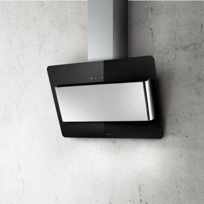 Elica Belt Lux BL/F/80 döntött ernyős páraelszívó - fekete