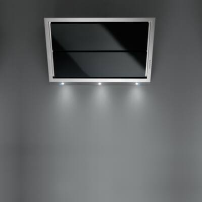 FALMEC GLEAM fali páraelszívó - inox / fekete üveg