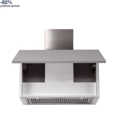 FALMEC GRUPPO INCASSO NRS 70 felső szekrénybe és kürtőbe építhető páraelszívó - inox / üveg