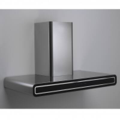 FALMEC IMAGO fali kürtős páraelszívó - inox / fekete üveg