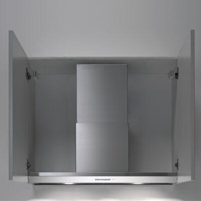 FALMEC VIRGOLA 120 felső szekrénybe és kürtőbe építhető páraelszívó - inox