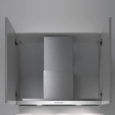 FALMEC VIRGOLA 60 felső szekrénybe és kürtőbe építhető páraelszívó - inox