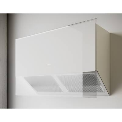 Sirius SLTC 110 fali páraelszívó - fehér üveg