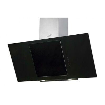 Cata CERES 900 XGBK fali páraelszívó - inox / fekete üveg