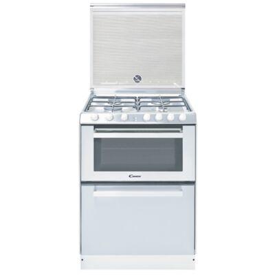Candy TRIO 9501/1 W/NG szabadonálló sütő - gáz főzőlap - mosogatógép