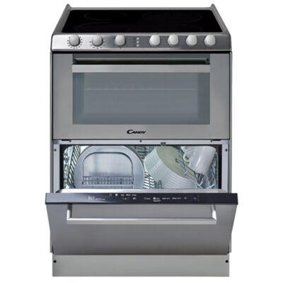 Candy TRIO 9503/1 X/U szabadonálló sütő - üvegkerámia főzőlap - mosogatógép