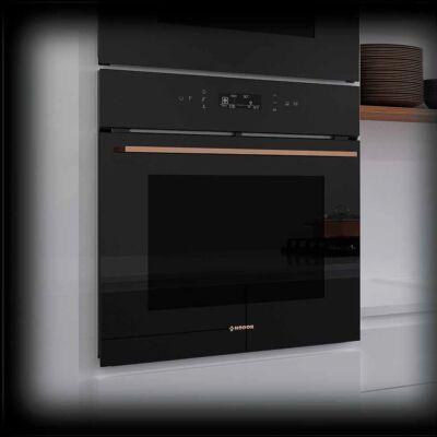NODOR NorChef MO-6800 CU beépíthető multifunkciós sütő - fekete / réz