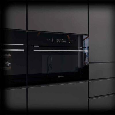 NODOR NorChef SO-4800 DB beépíthető multifunkciós gőzsütő - fekete / inox
