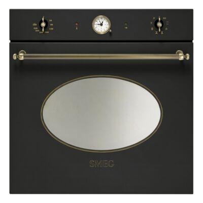 SMEG SFP805AO pirolitikus beépíthető rusztikus sütő - antracit / bronz