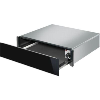 Smeg DSN CPR615NX melegentartó fiók - fekete üveg / inox