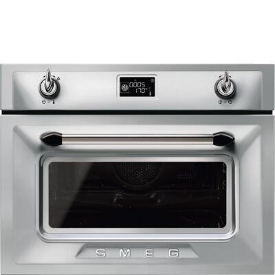 SMEG SF4920MCX1 beépíthető kompakt sütő - mikrohullámú sütő