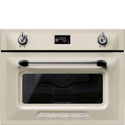 SMEG SF4920VCP1 beépíthető kompakt kombi gőzpároló sütő