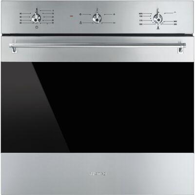 SMEG SF6341GVX beépíthető kombinált sütő