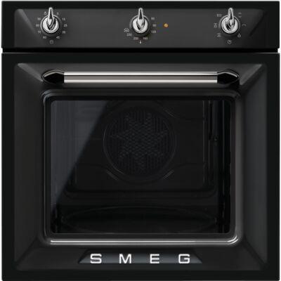 SMEG SF6905N1 beépíthető rusztikus légkeveréses sütő - fekete