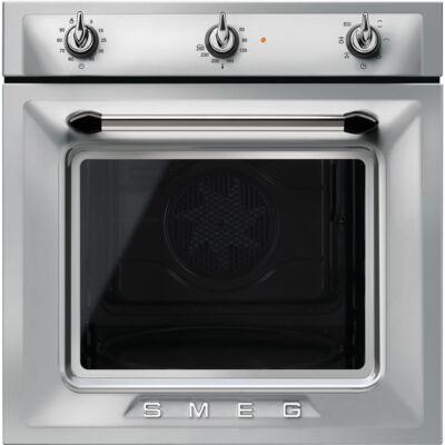 SMEG SF6905X1 beépíthető rusztikus légkeveréses sütő - inox