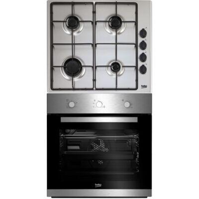 Beko BIE 22100 X beépíthető sütő - Beko HIZG 64120SX gáz főzőlap szett