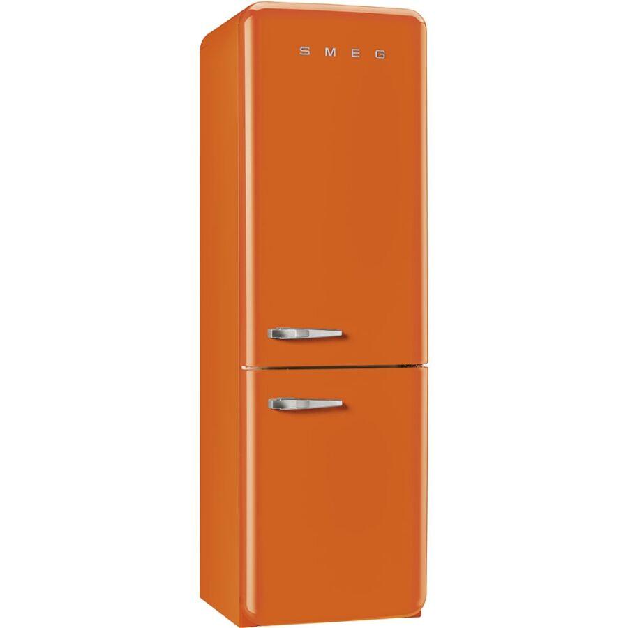 smeg fab32ron1 szabadon ll alulfagyaszt s kombin lt retro h t szekr ny narancss rga jobbos. Black Bedroom Furniture Sets. Home Design Ideas