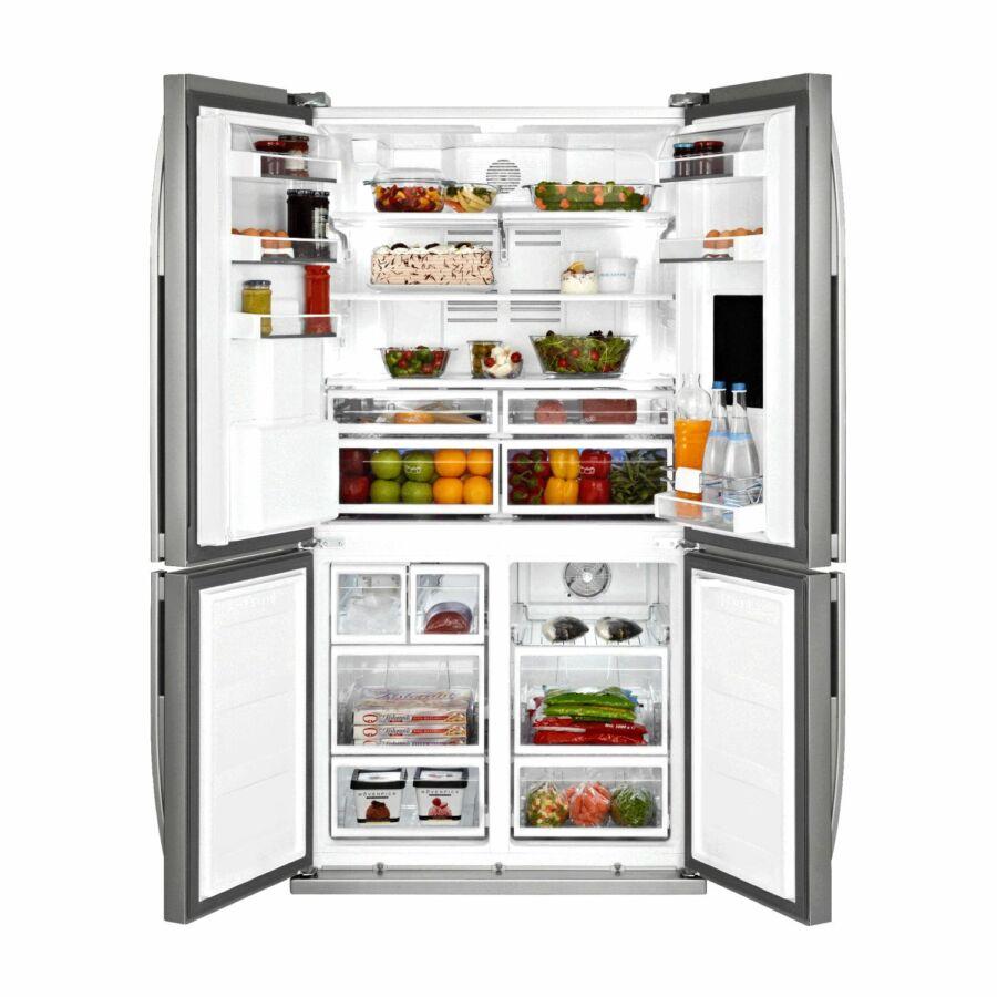 Beépíthető dupla hűtő